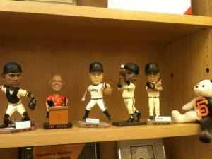 Giants bobbleheads