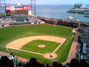 Giants' home opener, 2006