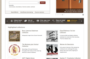 Stanford University Libraries website