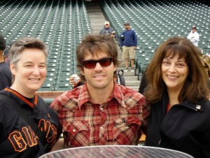 me, Barry Zito, Diane