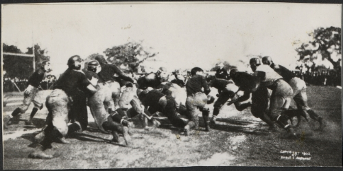 Stanford in 1st Rose Bowl. We're hoping for a much different outcome this year. Photo courtesy of Stanford University Archives.