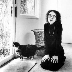 Joyce Carol Oates & cat