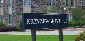 Krzyzewskiville sign
