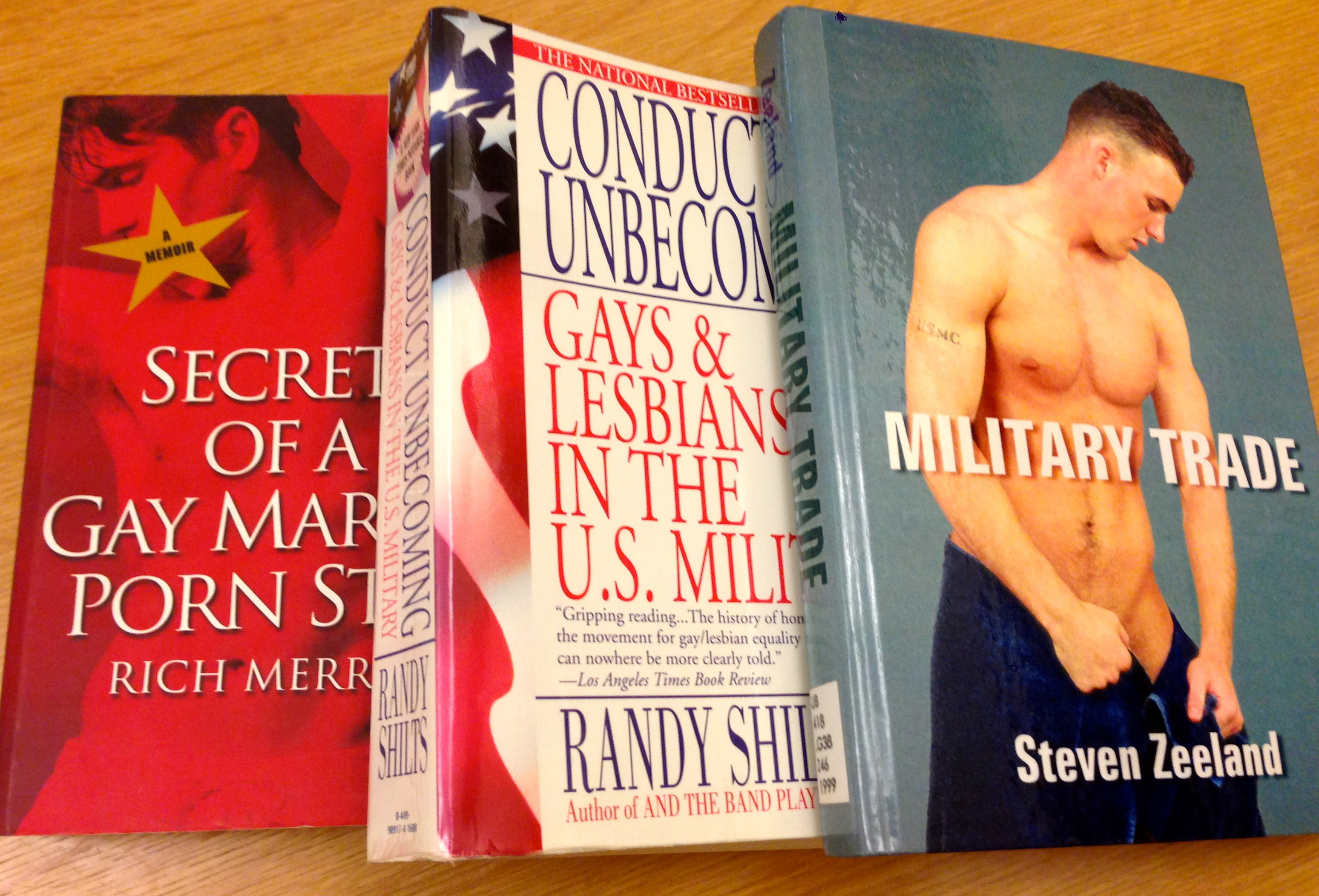 from Grayson conduct gay in lesbian military unbecoming us