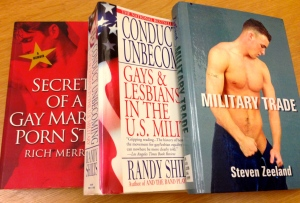 books on gays in military