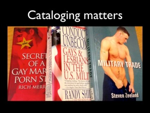 3 books about gays in military