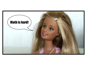 "Barbie ""Math is hard"""