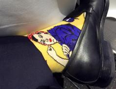 rosy the riveter socks