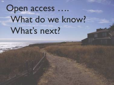 Open Access: What's next?